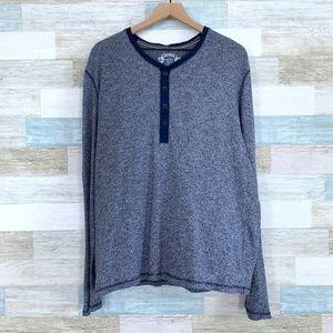 Blue Henley Shirt Express